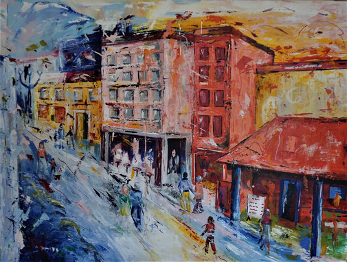 Stadt, Expressionismus