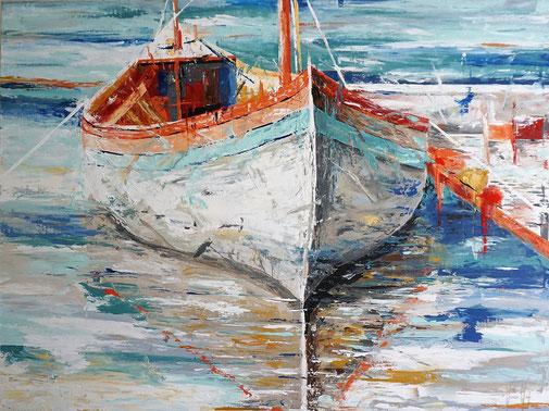 Boot, Hafen