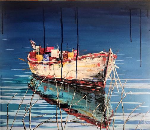 Boot, Wasser, Moderne Kunst