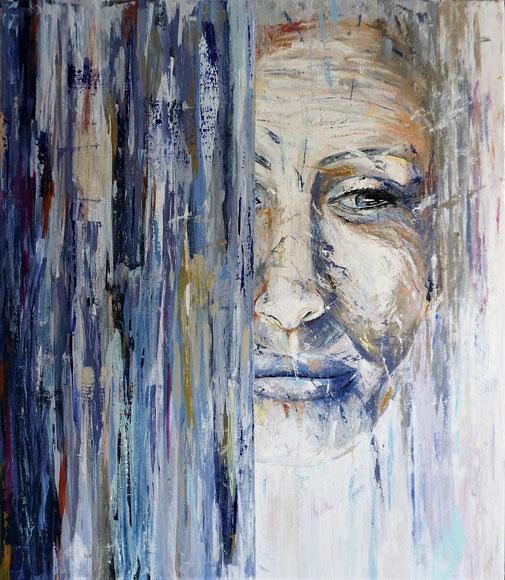 Frauenporträt, Reife Frau, Moderne Malerei, Schönheit
