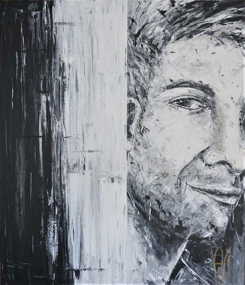 Männerporträt, Schönheit