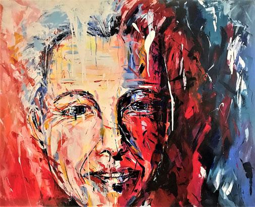Frau, Porträt, Expressionismus