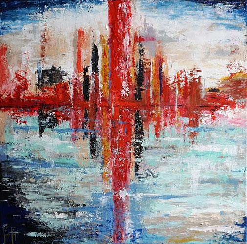 City, Stadtansicht, Expressionismus