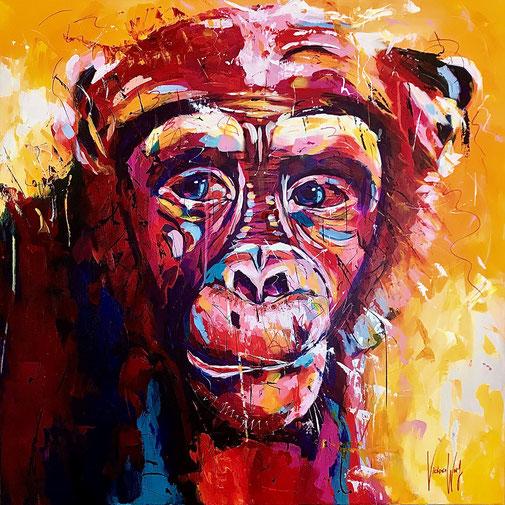 Schimpanse, Tierproträt