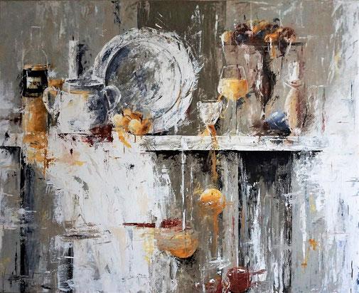 Stilleben, Genuß, Moderne Malerei