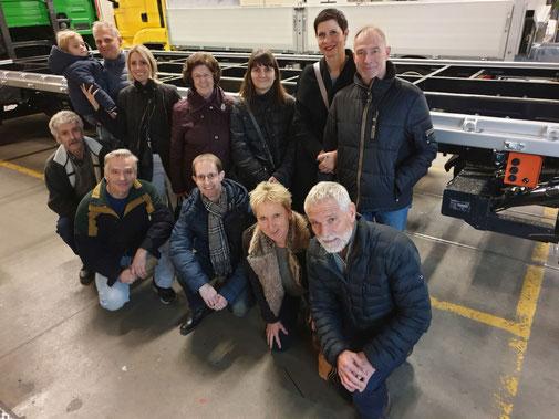 Höck vom 7. Februar 2020 mit Betriebsbesichtigung bei Lanz + Marti AG, Sursee