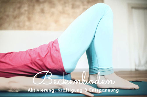 Beckenboden Training, starke Körpermitte