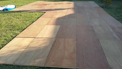 Location de plancher en bois