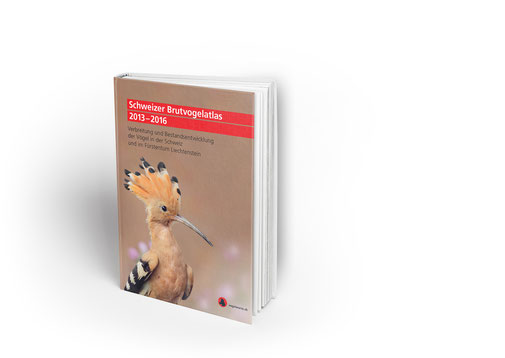 """Der neue """"Schweizer Brutvogelatlas 2013-2016"""" (Foto © Schweizerische Vogelwarte)"""