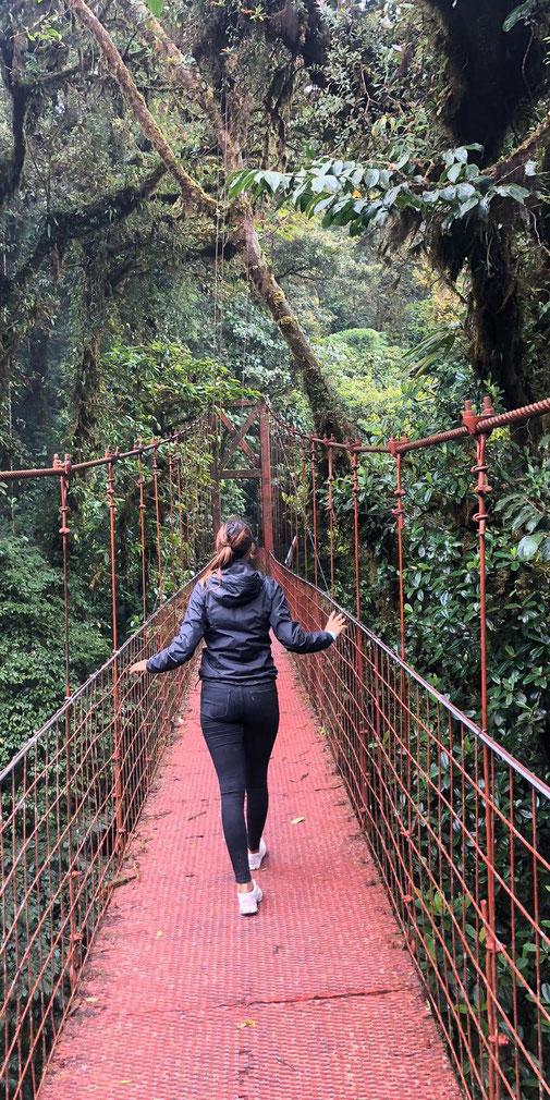 Hängebrücke in Monteverde