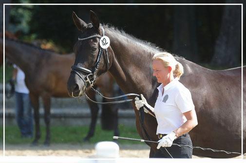 St.Pr.u.Pr.St Sasuela Landessiegerin im Rheinland an der Hand von Britta Heinen