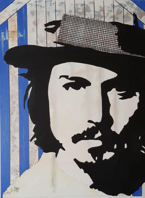 J. Depp,  60x80cm