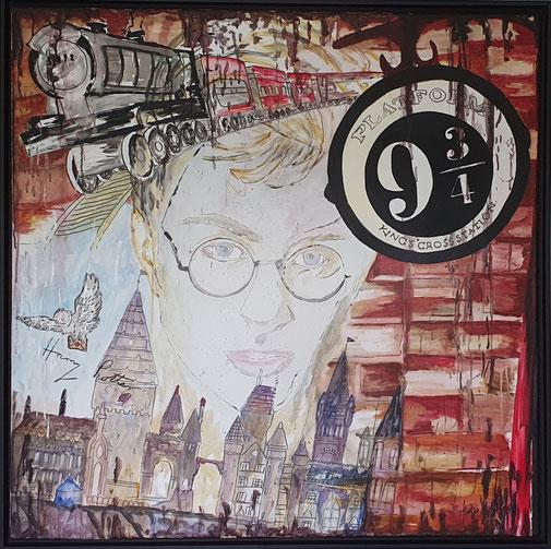 Werk 28, Harry Potter, 100x100cm