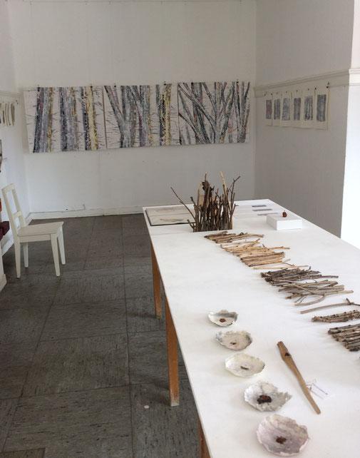 installation, malerei, objekt, kunst, artinstallation