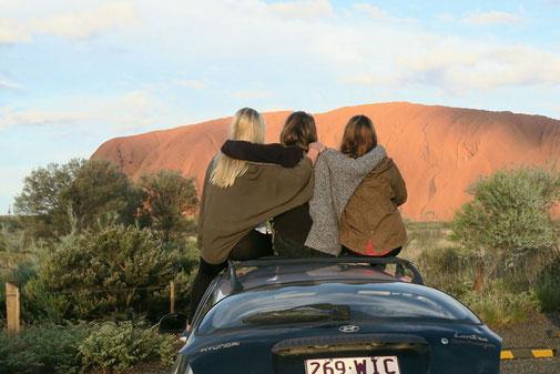 Roadtrip mit Freunden in Australien