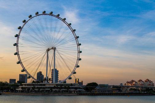 Die Stadt als Freizeitpark - Highlight Singapore Flyer