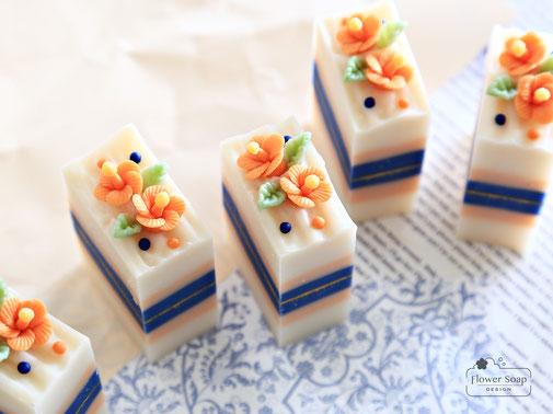 東京の手作り石けん教室 石けんの資格取得 お花の石けん フラワーソープ