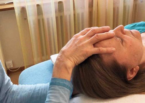 Craniosacral Therapie, Patricia Kressig-Schori, Praxis für Energetische Körpertherapien, Zürich