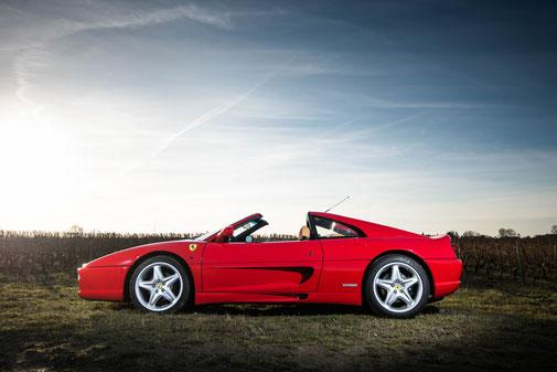 Tours Prestige Cars Ferrari 355 GTS 2