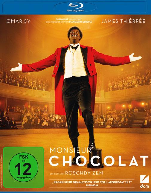 Monsieur Chocolat Blu-ray - Omar Sy - DCM - kulturmaterial