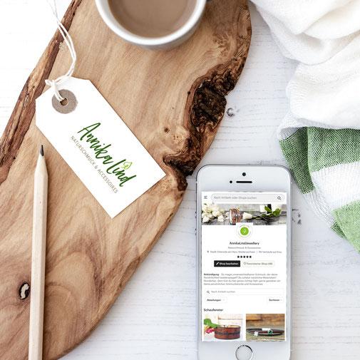 Online-Shop von Annika Lind Naturschmuck & Accessoires