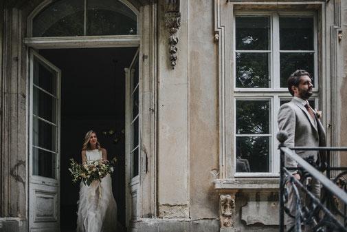 Firstlook Brautpaar emotional