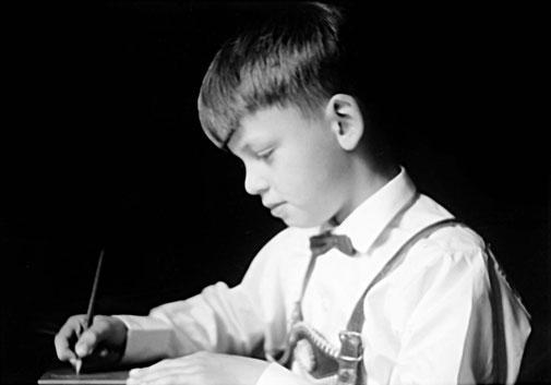 Bei den Schularbeiten [1960]