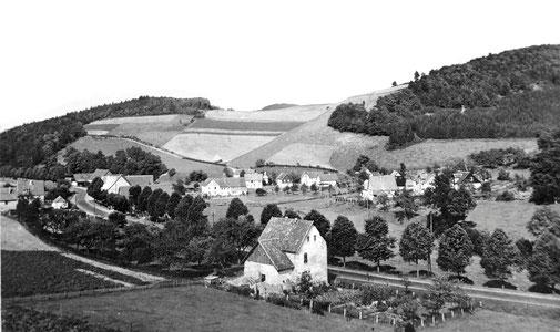 Isingheim, aus Richtung Cobbenrode gesehen