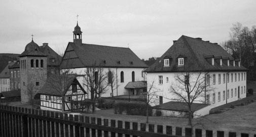 Das Klostergelände in Rumbeck, heute (Foto aus Wikipedia)