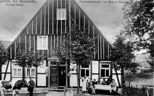 Gastwirtschaft Franz Bruder in Isingheim