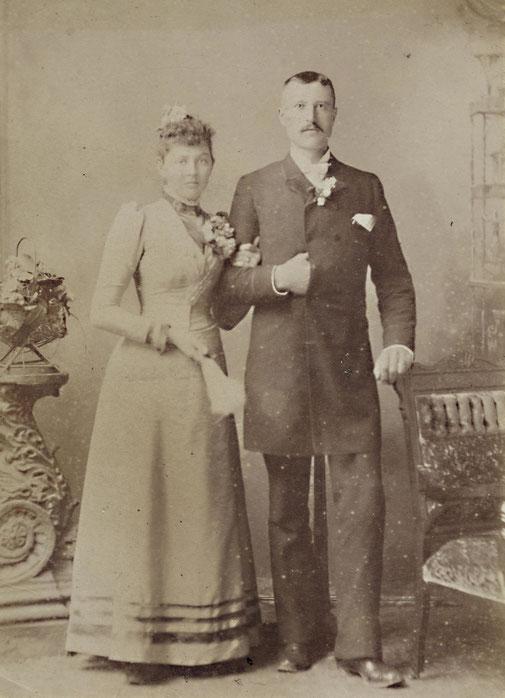 Ein schönes Paar: Heinrich Heymer und Maggi, geb. Otto