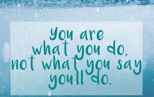 Wertschöpfend ist eine Aktion erst, wenn sie realisiert ist. Das Bewusstsein hin zum Machen zu trainieren, ist bedeutend.