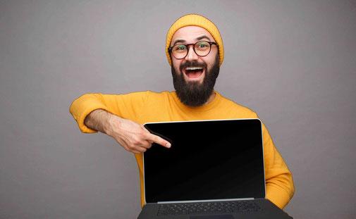 Kostenlose Web-Präsentation/-Demo oder Live-Demo als Entscheidungshilfe oder Entscheidungsvorbereitung.
