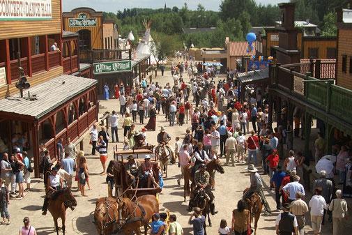 Westernstadt El Dorado in Templin