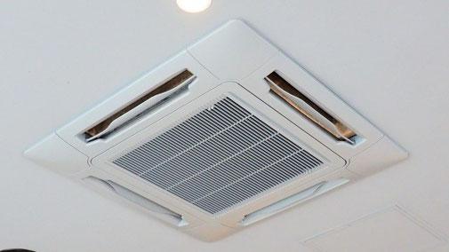 天井カセット型エアコンクリーニング 4方向