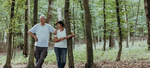 Waldbaden mit Helga und Siegfried Krassnig