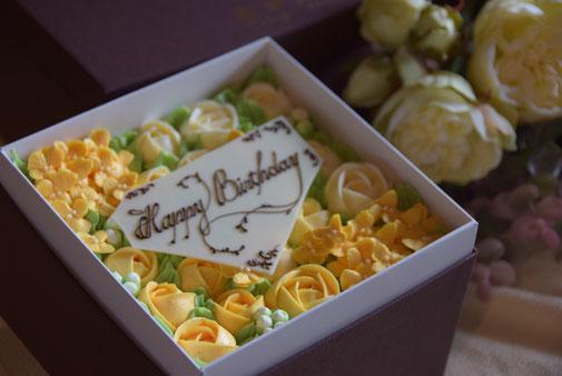 お花のケーキ、フラワーケーキ、木更津ケーキ,ギフト,バースデーケーキ,