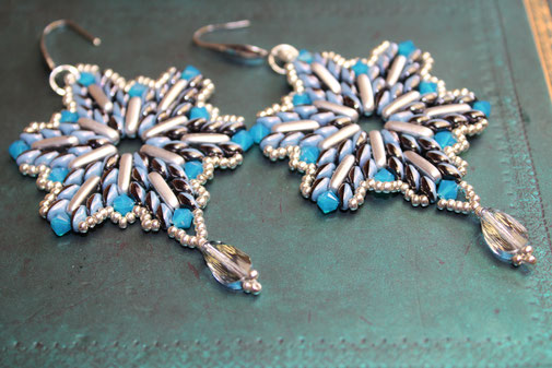 Ohrringe Big Beng by Kinari Handmade Jewellery
