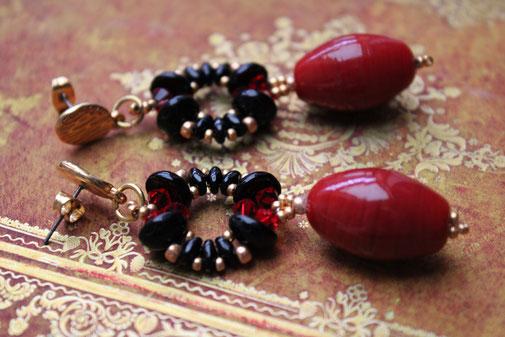 Ohrringe Karma by Kinari Handmade Jewellery