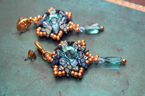 Ohrringe Kitestar by Kinari Handmade Jewellery