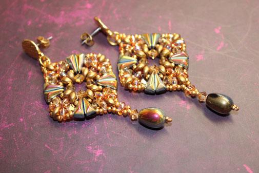 Ohrringe Sara by Kinari Handmade Jewellery