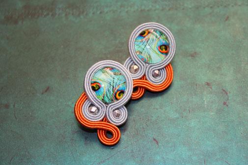 Soutche Schmuck Ohrringe Calandra by Kinari Handmade Jewellery Statementschmuck Designer