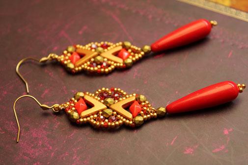 Ohrringe Avatar by Kinari Handmade Jewellery