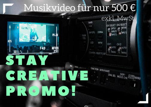 musikvideo produktion