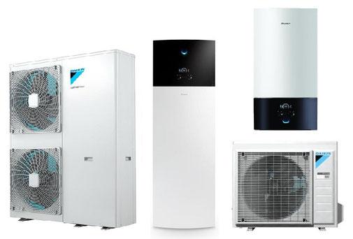 Pompe à chaleur air-eau Daikin Altherma 3 moyenne température R-32