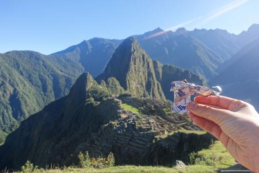 Ovosport au Machu Picchu