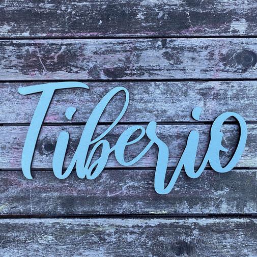 Schriftzug aus Holz mit einer Schriftbreite von 70cm