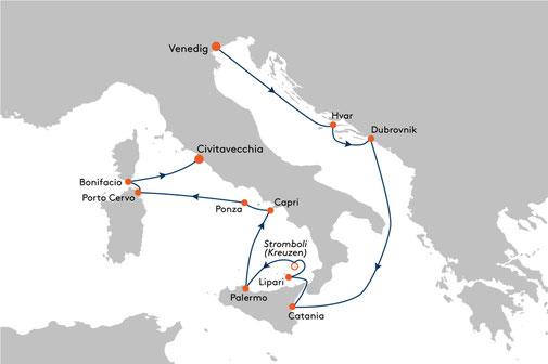 EUX2313 Reise MS EUROPA 2