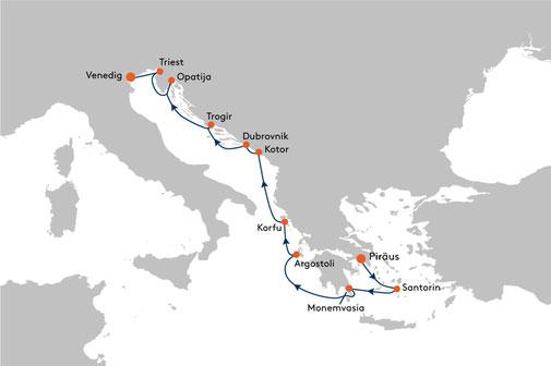 EUX2312 Reise MS EUROPA 2