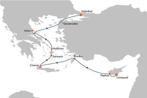 EUX2310 Reise MS EUROPA 2